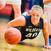 Mifflinburg's Libby Whittaker dives for a loose ball during Wednesday's