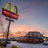 The McDonald's on Route 15 in Lewisburg will be closing on  February 14th for a demolation and a new starte of the art McDonalds will be built in its place.