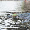 Robert Inglis/The Daily Item  Lillyanna Wolfe, 8, goes under water to see what she can find in the Susquehanna River at the Milton State Park on Friday.