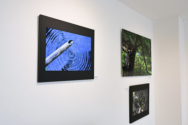 Artworks on frame mat panel sized 65 x 55 cm. (26 x 22 in.) and on aluminum float mount sized  103 x 73 cm. (41 x 29  in.)