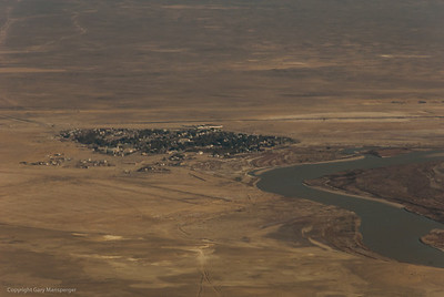 The town of Baikonur as we arrive from Moscow