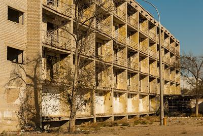 Not so modern apartments downtown Baikonur