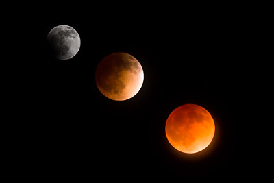 Lunar Eclipse from Yosemite NP