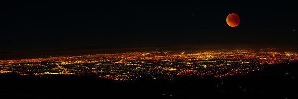 Blood Moon Over Silicon Valley 2018