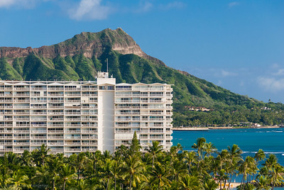 From the Hilton hotel to Diamond Head