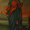 """St. Agatha"" painting by Sister Gregory Ems, OSB"