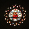 Christ the King rose window