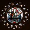 St. Benedict rose window