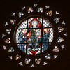 St. Benedict rose window