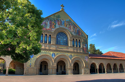 Stanford Church Fron t