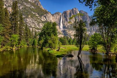 Calm Merced River