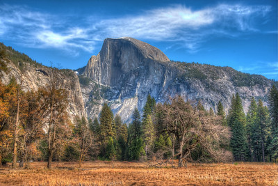 Half Dome in HDR