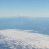 Mt. Rainier and Mt. St. Helens!