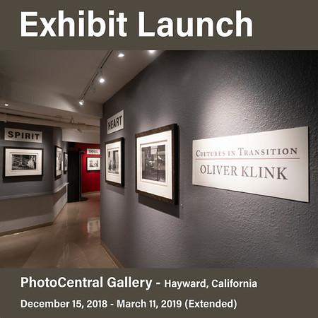 Exhibit at PhotoCentral Gallery (Dec 15, 2018 - March 3, 2019)