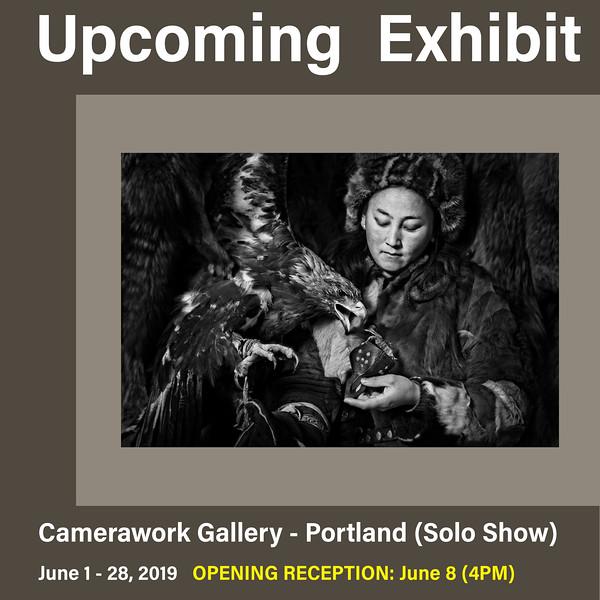 Solo Exhibit in Portland (June 2019)