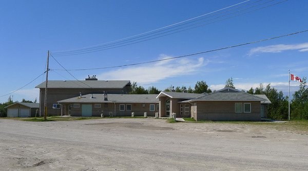 Nursing station (clinic), Webequie First Nation.