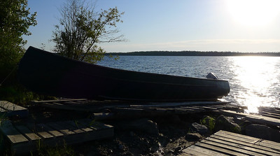 Morning on Winisk Lake, Webequie First Nation.