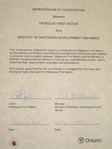 The Memorandum of Cooperation.