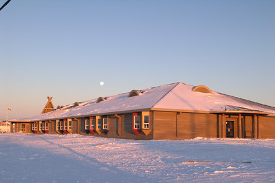 Webequie school, Simon Jacob Memorial Education Centre.