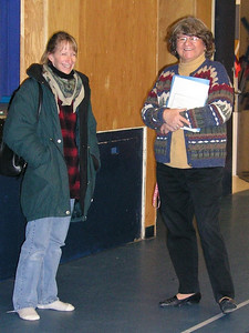 MNDM-OGS Lori Churchill and Principal Georgina Nahwegahbow