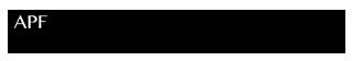 APFSR Logo