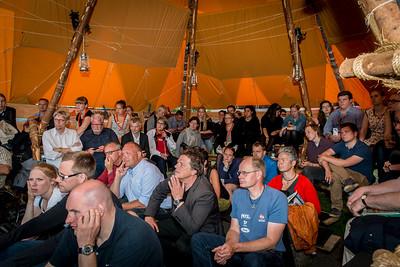 Spejdernes hus på folkemødet 2013 på Bornholm