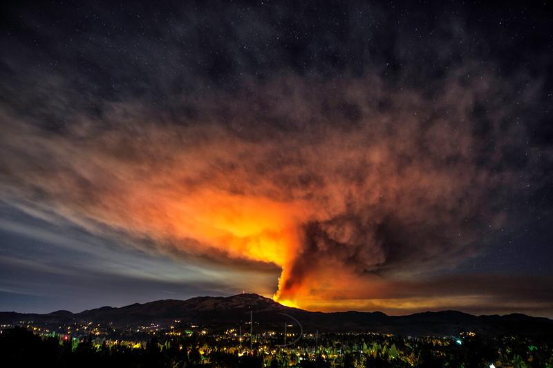 Mt. Diablo Fire 2013
