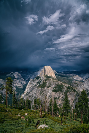 Glacier Point Thunderstorm, Yosemite, CA