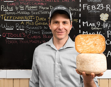 Michael Januska of Old Brooklyn Cheese Co.