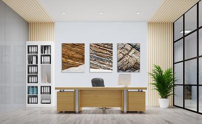 Bildserie Stein für Ihr Büro