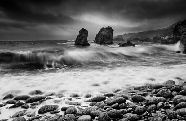 The Arrival of the April Storm. Big Sur, California.