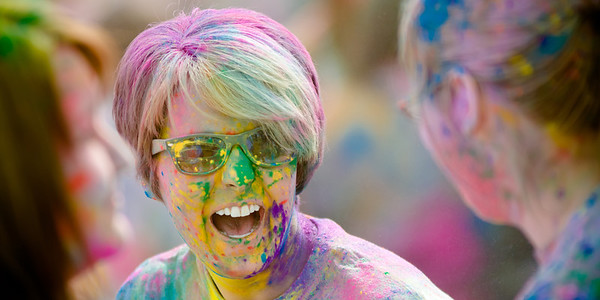 Great Day at the Holi Festival of Color - 2013
