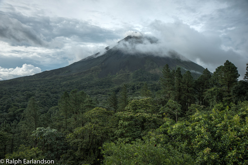 A view of Arenal Volcano.