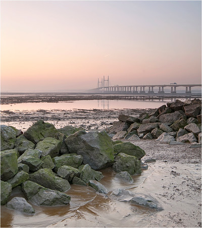 Severn Bridge Dusk