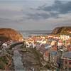 Evening light on Staithes