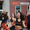 INTO Oregon State University and OSU celebrate their partnership with the dedication of the new International Living-Learning Center Sunday and Monday October 9th. and 10. Thanks Amy!  © 2011 Fred Joe Photo