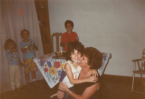 My first birthday without dad.<br /> Mom really is the strongest woman I know with the most beautiful smile.