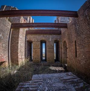 Inside Fort Proctor