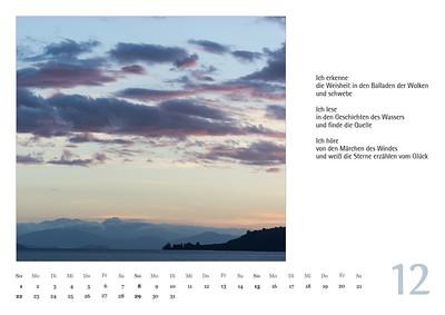 Foto-Lyrik-Kalender 2019 Dezember