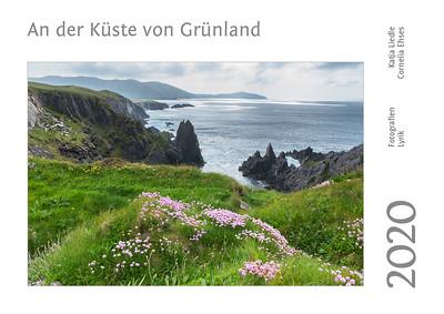"""Foto-Lyrik-Kalender 2020 """"An der Küste von Grünland"""" Titel"""