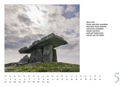 """Foto-Lyrik-Kalender 2020 """"An der Küste von Grünland"""" Mai"""
