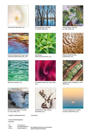 farbe-form-natur 2019 Übersicht