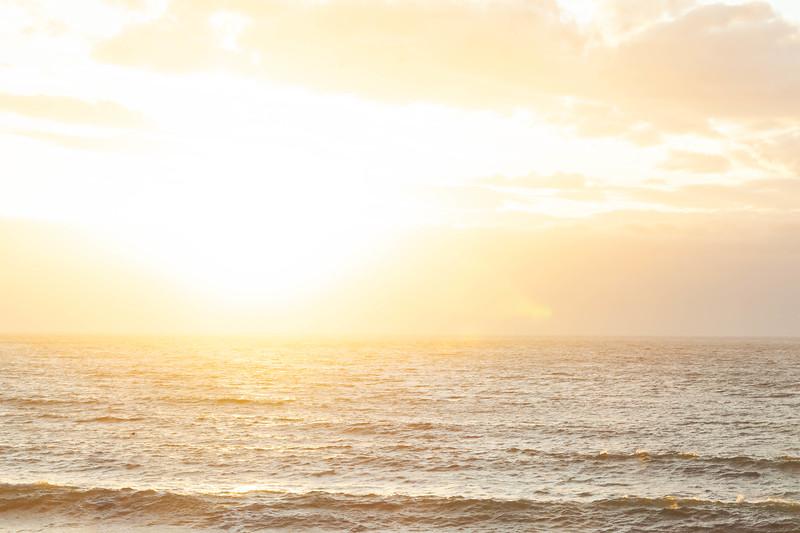 Sunset over the Strait of Juan de Fuca, WA USA