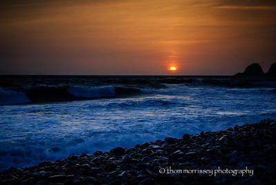 Sunset at Mugu State Park