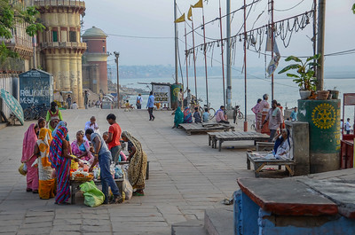 Varanasi Street Scene