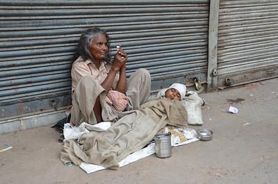 Desperate Woman in Delhi