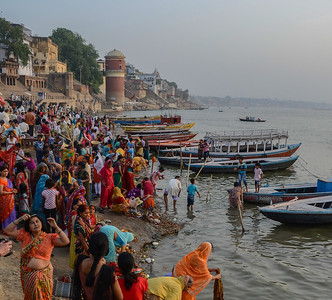 Ganges River at Dawn