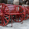 Red Antique Wagon