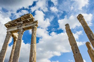 Columns in Ruins