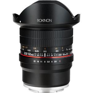 Rokinon 12mm f/2.8 Fisheye Lens